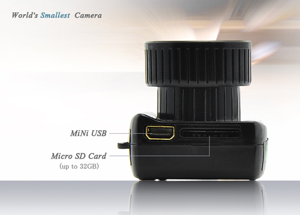 THE WORLD'S SMALLEST SLR CAMERA