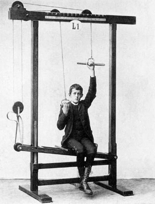 CRAZY VINTAGE WORKOUT EQUIPMENT