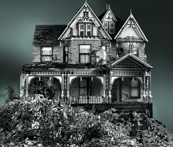 INSANE VICTORIAN LEGO HOUSES