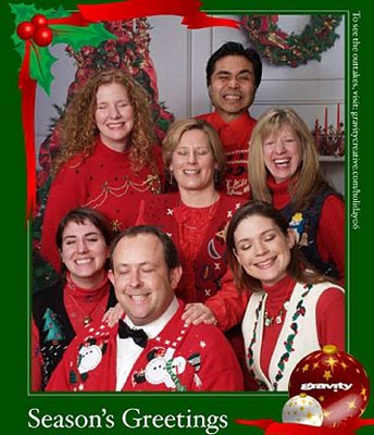 UGLIEST FAMILY CHRISTMAS PORTRAITS