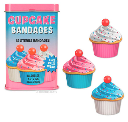 7 FUNNY FOOD SHAPED BANDAGES