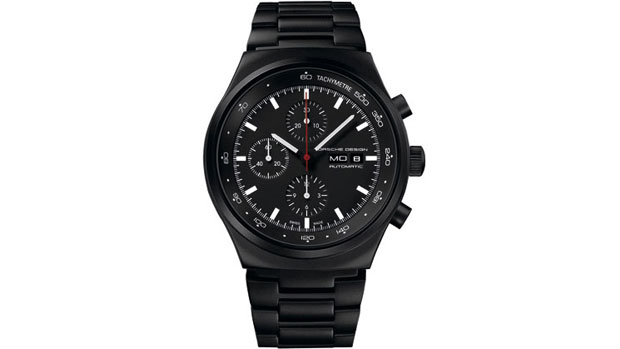 Porsche Design P'6510 Black Chronograph