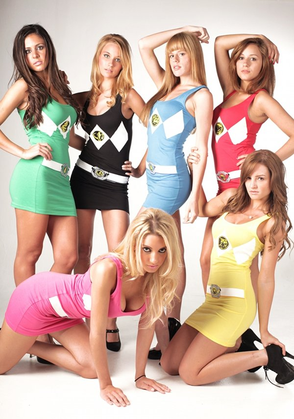 That All female power ranger nude suggest