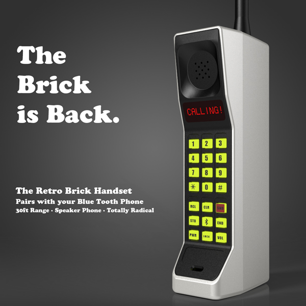 1990′S BRICK PHONES ARE OFFICIALLY BACK