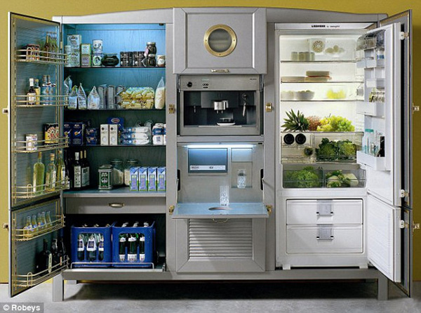 This Crazy Super Refrigerator Costs $40,000