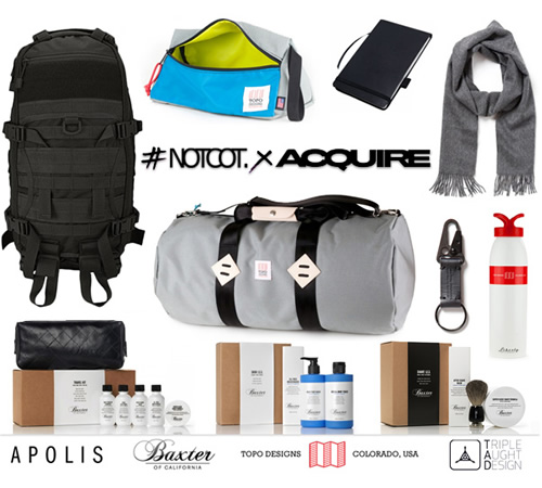 ACQUIRE + NOTCOT Adventure Giveaway