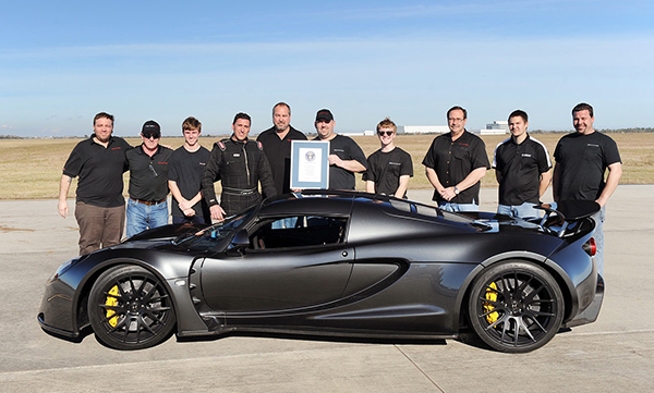 Hennessey Venom: The Quickest Car In The World