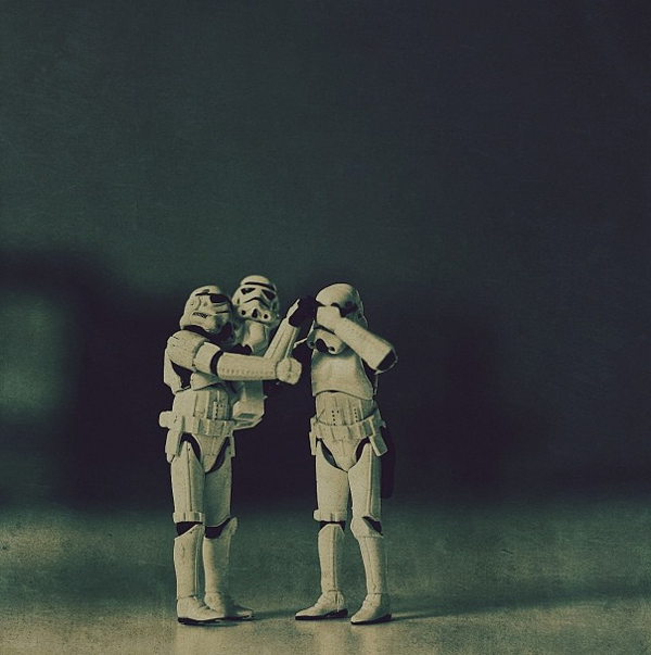 14 Quirky Photos of Loving Storm Troopers