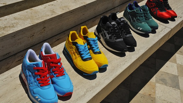 Bait x Asics Olympic Rings Pack