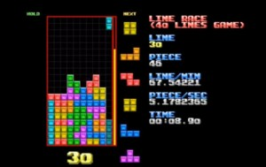 Speed Tetris player breaks 20 second game barrier