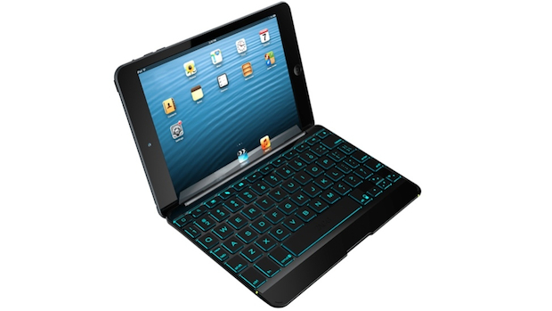 ZAGGkeys Cover with Backlit Keyboard for Apple iPad mini