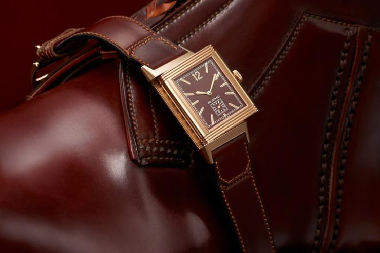 Jaeger LeCoultre Grande Reverso Ultra Thin Tribute to 1931 Chocolate Dial