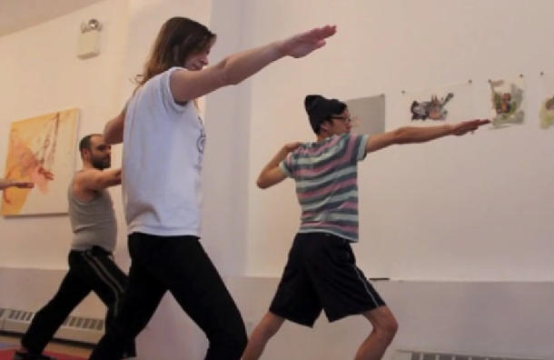 Dungeons & Dragons yoga: Stretch and storm the castle