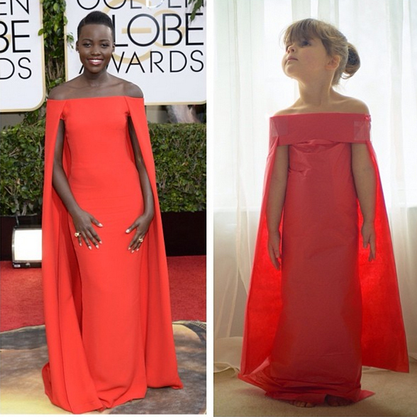 This 4 Year Old And Her Mom Make Incredible Paper Versions Of Famous Dresses