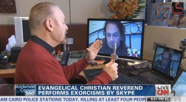 A Skype exorcism: The modern way to rid yourself of demons