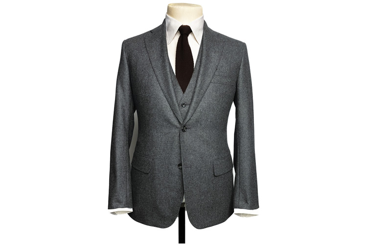 The Freeman 3 Piece Flannel Suit