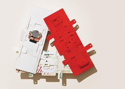 An Origami Microscope For Less Than a Dollar