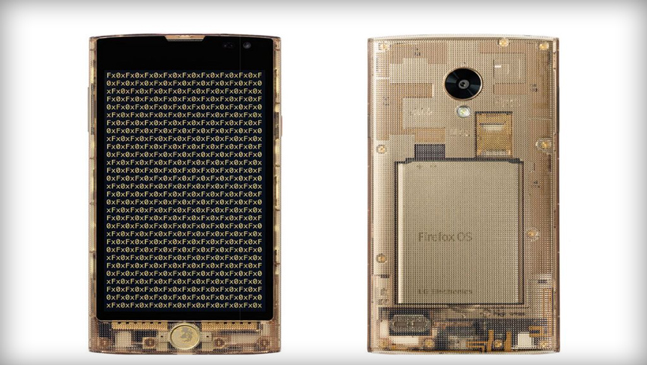 New Fx0 Phone Features Elegant Transparent Design And Firefox OS