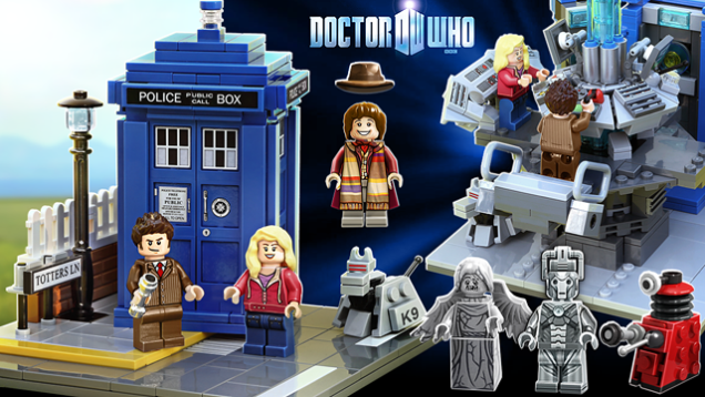 Doctor Who Lego Is Finally Happening!