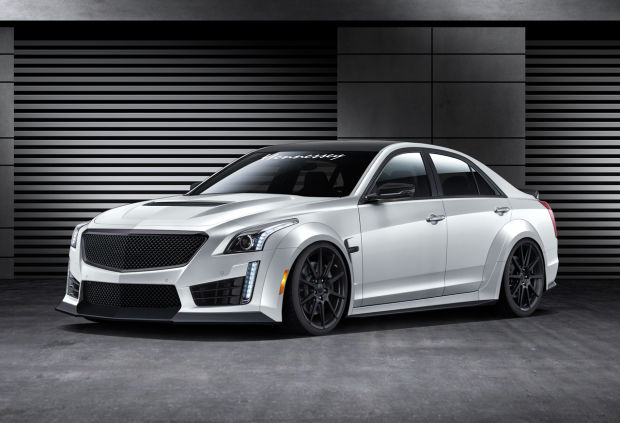 Because 640 hp wasnt enough, Hennesseys HPE1000 Twin Turbo Cadillac CTS V