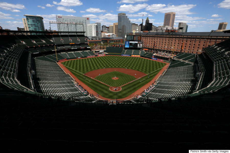 This Is What An Empty Baltimore Orioles Game Looks Like