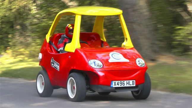 You Can Finally Own Your Own Little Tikes Car