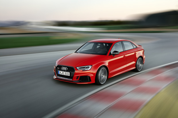 Audis RS3 features the most powerful five cylinder in the world