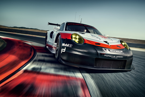 Porsche readies a new 911 RSR for next years Le Mans