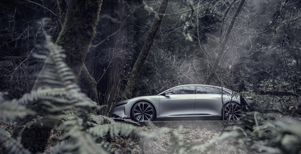 Lucid Motors debuts its new luxury entry into the electric car market