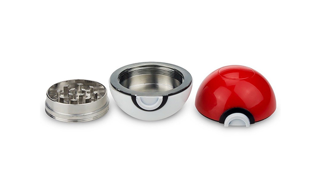 The Pokeball Grinder Is The Perfect Gift For Pokemon Lovers & Vapers!