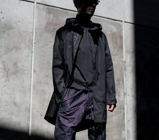 Ten C introduces a sleek and stitch free collection of technical outerwear pieces