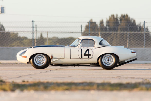 Bonhams previews the sale of the 1963 Team Cunningham E Type