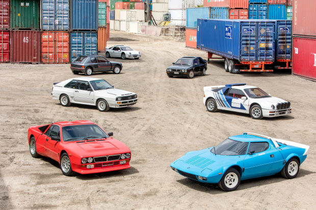 An incredible single owner collection of Group B rally cars are hitting Bonhams this August
