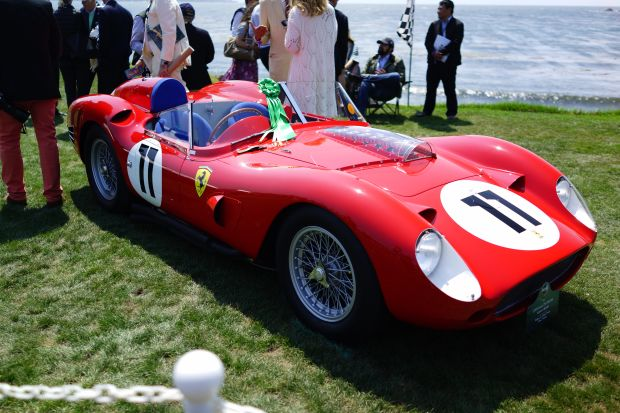 70 Years of Ferrari at the Pebble Beach Concours dElegance