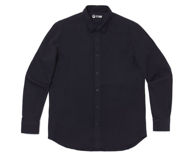 Outlier creates the perfect travel shirt with the S140 Hidden Pocket Pivot