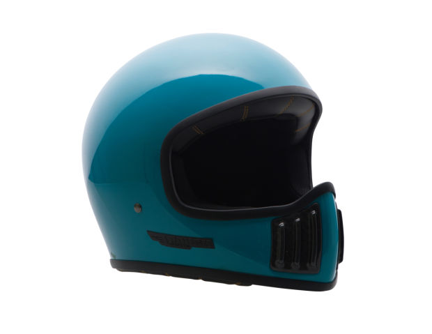 Rough Crafts releases a full carbon fiber motorcycle helmet with a vintage twist
