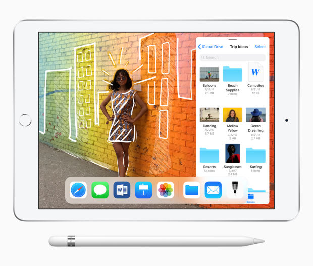 Apple adds more power and Pencil support to the new 9.7 iPad