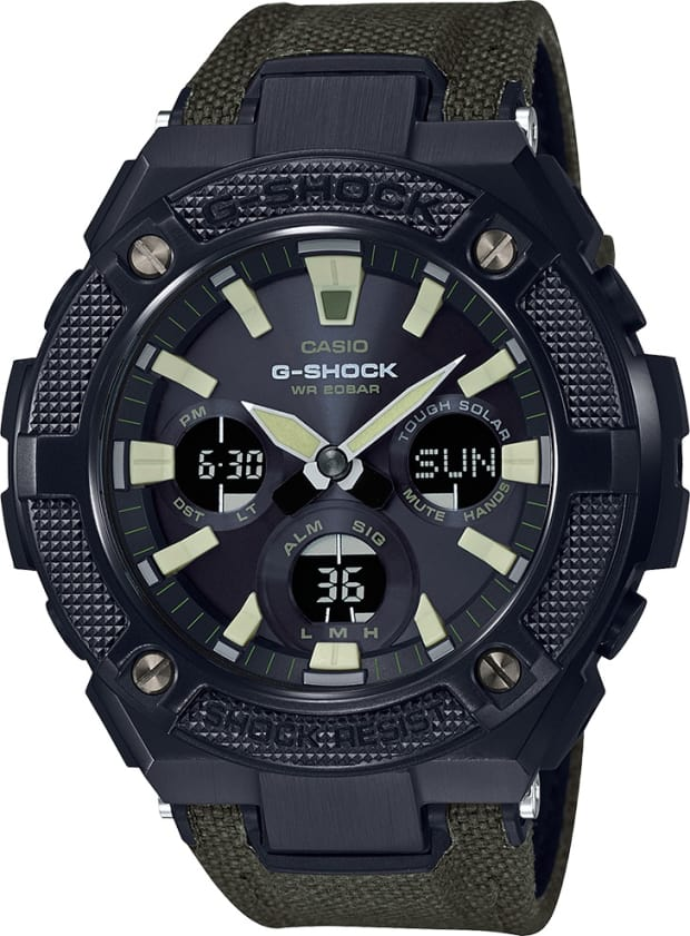 G Shock adds a military staple to its new Street Utility Collection