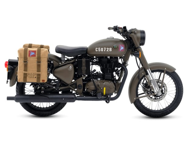 Royal Enfields Classic 500 Pegasus Edition is inspired by their WW2 era bikes