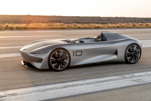 Infiniti looks to the past and the future with its Prototype 10 concept