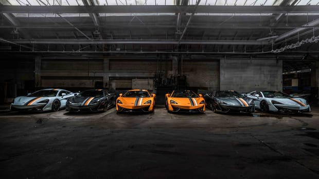 McLaren Beverly Hills and McLaren Special Operations debut their Racing Through the Ages collection