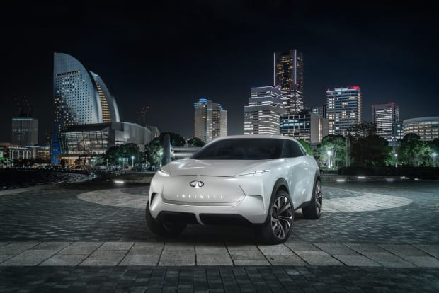 Infiniti previews their Tesla fighter, the QX Inspiration concept