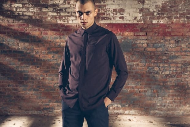 Outlier merges classic shirting construction with the performance of merino