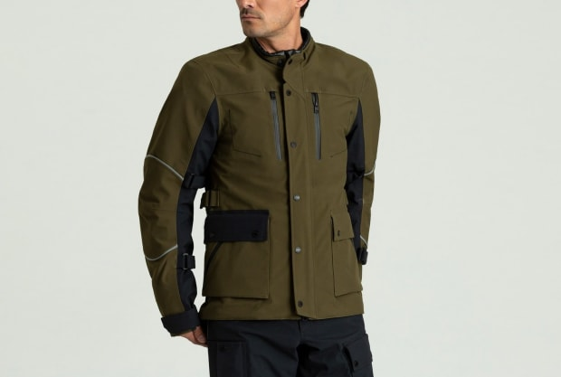 Aethers new Divide Motorcycle Jacket is designed for long distance journeys