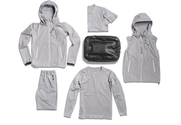 DSPTCH and Descente Athletic team up on a range of travel friendly activewear