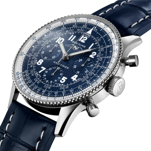 Breitling releases its 1959 Re Edition Navitimer in platinum and 18k red gold