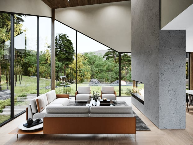 Aston Martin applies its design expertise to its first private residence